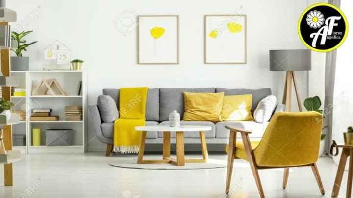 Decoración de interiores en amarillo 🌈 - 6