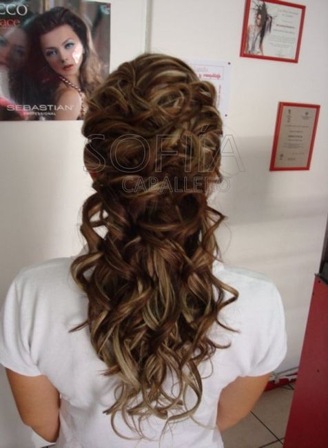 Peinados semirecogidos foro belleza for Semirecogido rizado