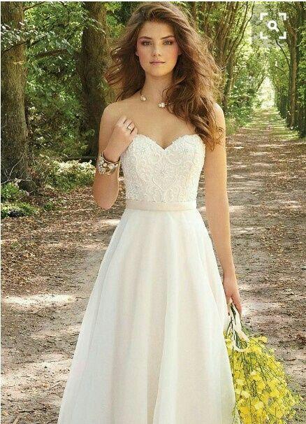 Qué Accesorios Usar Para Un Vestido De Novia Strapless