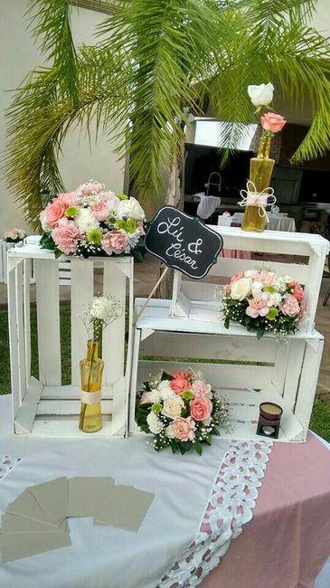 Huacales en tu boda foro manualidades para bodas bodas - Como decorar mesas para fiestas ...