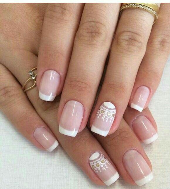 Uñas con tonos Nude y palo de rosa - Foro Belleza - bodas
