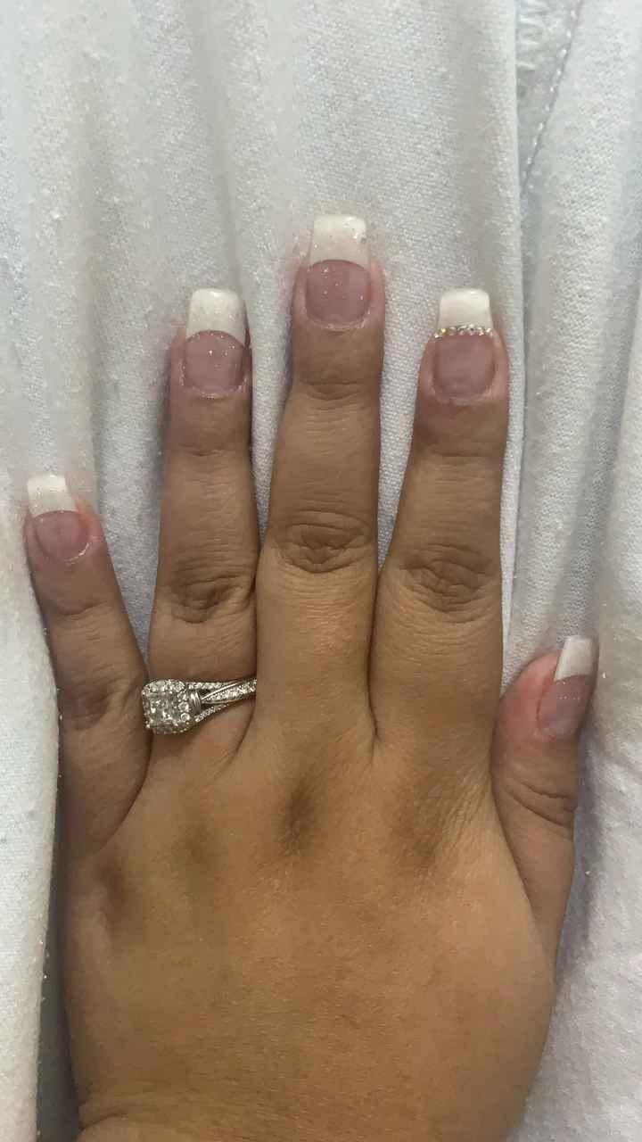 bridal Mani💅🏻👰🏼💍 - 1