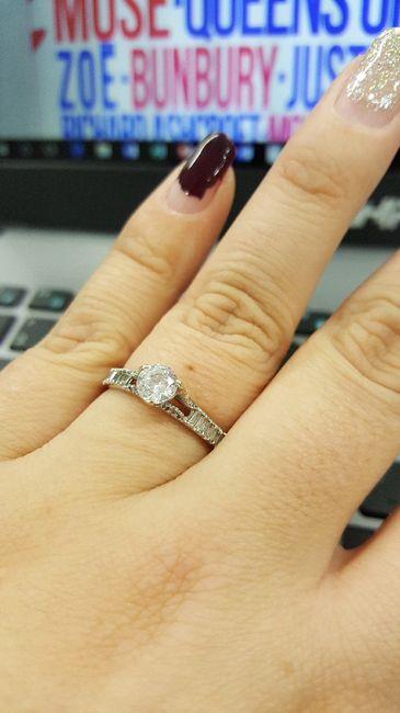 61fb3b864644 Ayuda  como combinar mi anillo de compromiso con la alianza! - Foro ...