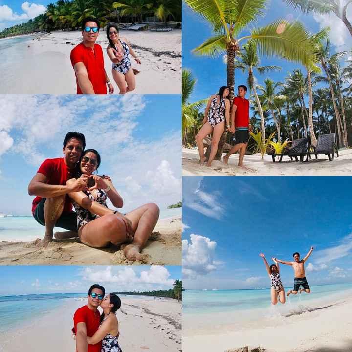 Punta Cana, República Dominicana! Por fin pudimos ! Después de 2 meses nuestra luna de miel ❤️✔️🇩🇴 -