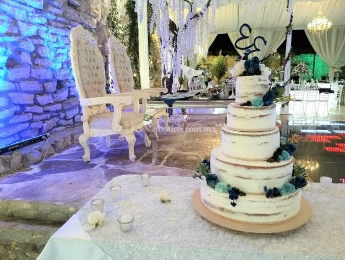 Pastel de bodas $ 4