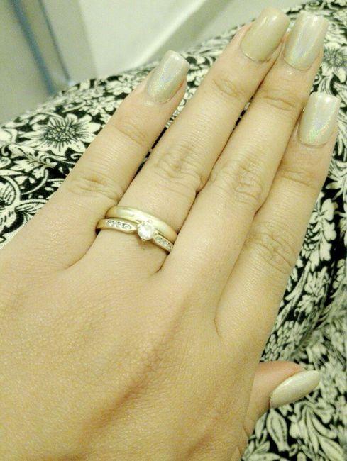 21053882fddd Se usa el anillo de compromiso y matrimonio juntos   porqué   - Foro ...