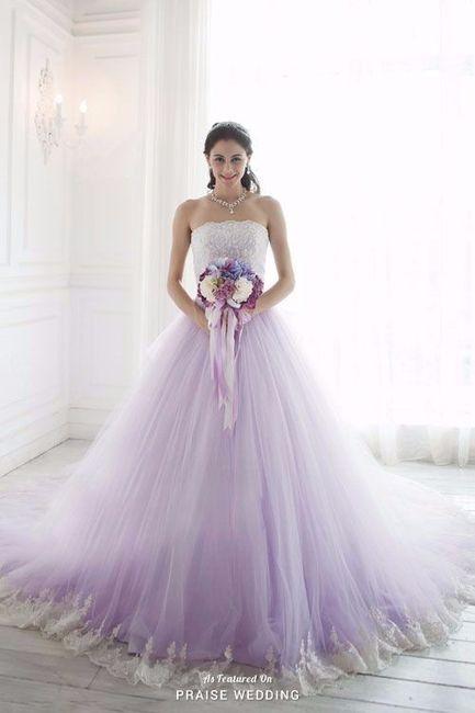 vestidos de novia colores pastel - foro moda nupcial - bodas.mx
