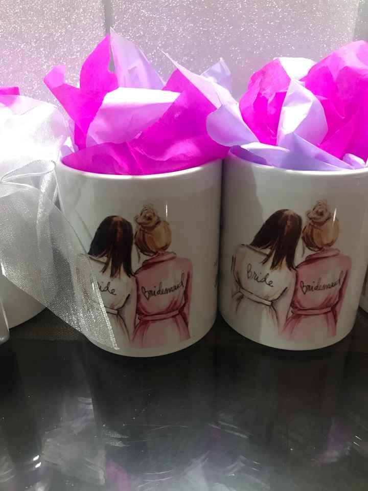 Tazas para damas de honor - 5