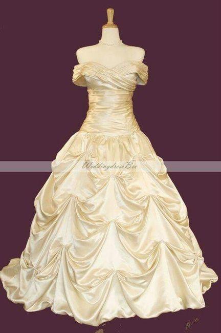 """Beauty And The Beast Inspired Wedding Dress: Boda Estilo """"la Bella Y La Bestia """""""