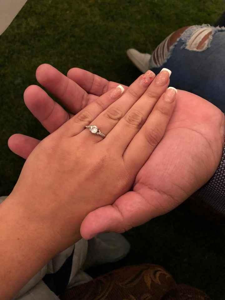 Post del día: Martes con m de Muestren sus anillos o reloj de compromiso. - 1