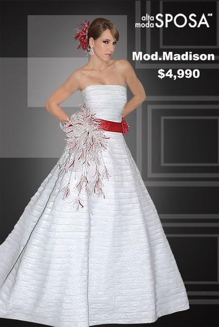 Vestidos de novia cortos en la lagunilla