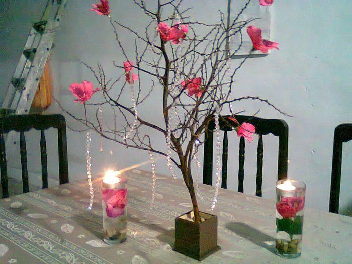 Centros de mesas economicos foro manualidades para bodas for Centros de mesa economicos