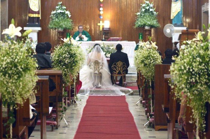 Decoracion Iglesia Bodas De Oro ~   de ir a una boda en donde abajo tiene un camino de nubes y se ve
