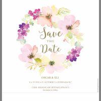 Escoger los save the date - 2