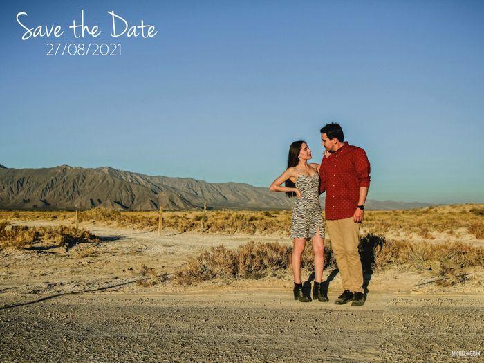Nuestras fotos Save the Date y nueva fecha!! 1