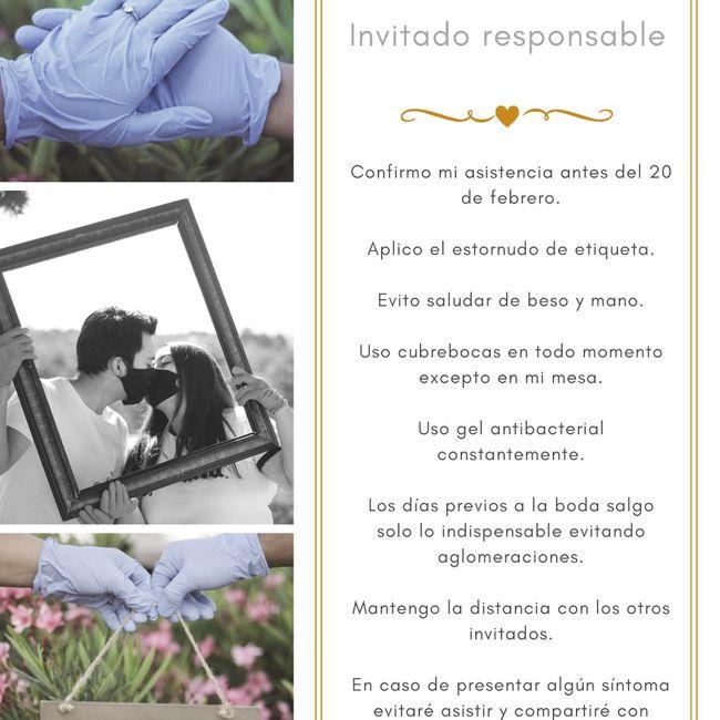 #Invitadoresponsable 1