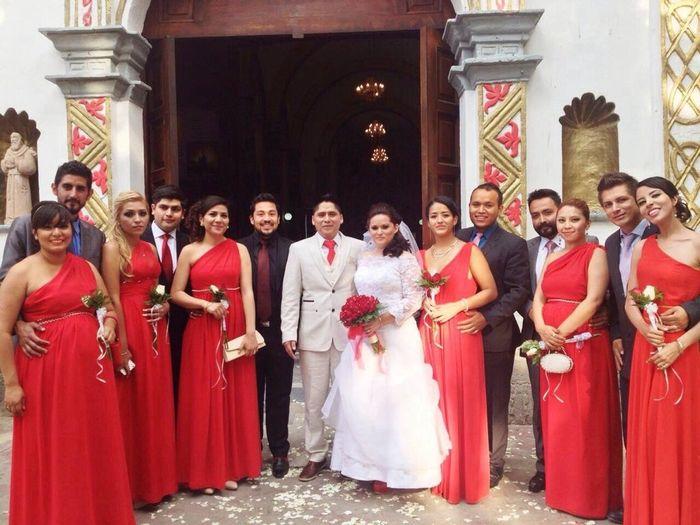 Mi boda de ensue o llego el gran d a 3 fotos reci n for Bodas de ensueno