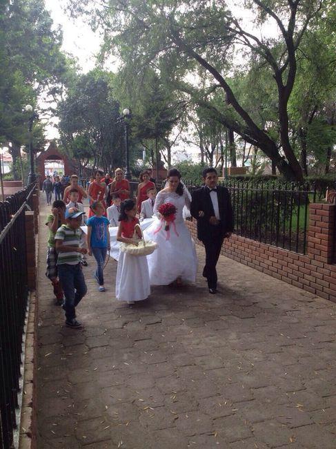 Mi boda de ensue o llego el gran d a 5 fotos reci n for Bodas de ensueno