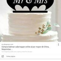 Catalogo de cake toppers!! - 3