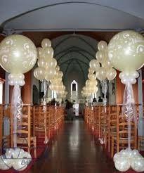 Decoracion De Iglesia Con Globos Foro Ceremonia Nupcial Bodascommx - Adornos-con-globos-para-bodas