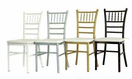 Qu sillas elegir para la boda foro banquetes bodas for Sillas para matrimonio