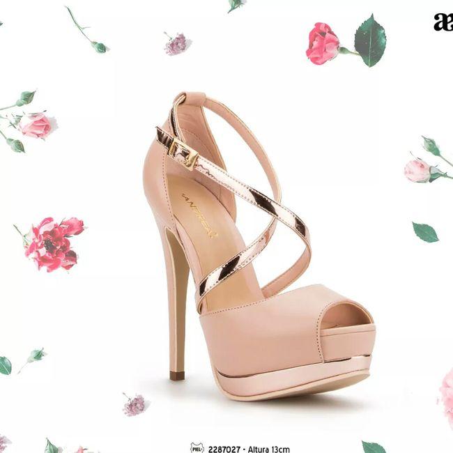 Zapatillas andrea tonos rosa c97b36e83964