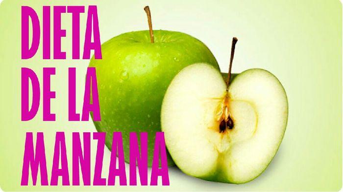 como puedo hacer la dieta de la manzana