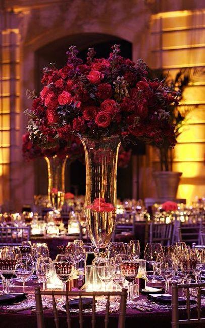 centros de mesa pantone 2018 foro manualidades para bodas. Black Bedroom Furniture Sets. Home Design Ideas