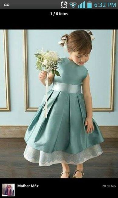 7933df01a Vestido Pajecitas - Foro Moda Nupcial - bodas.com.mx