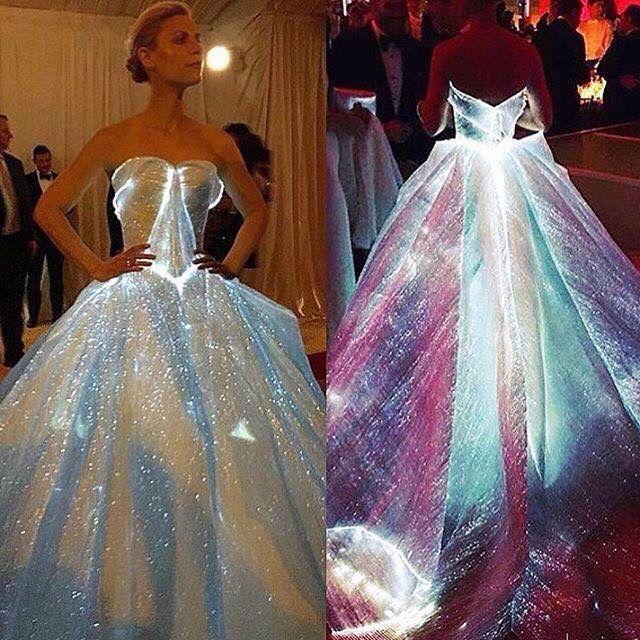 Vestidos con luces led - Foro Moda Nupcial - bodas.com.mx