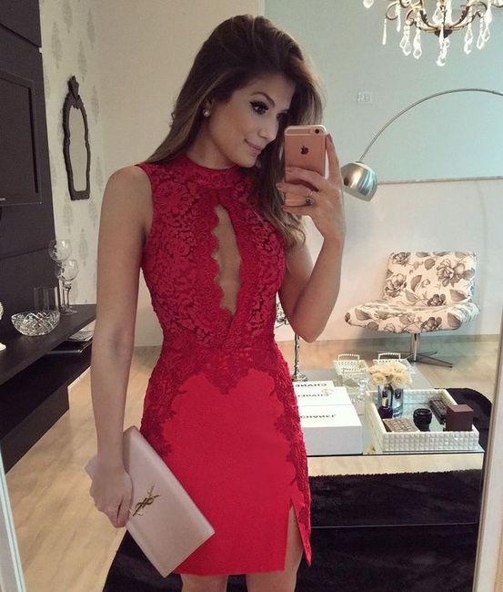 Vestido Rojo Para Despedida De Soltera Foro Moda