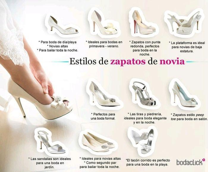 estilos de zapatos para novia! - foro moda nupcial - bodas.mx