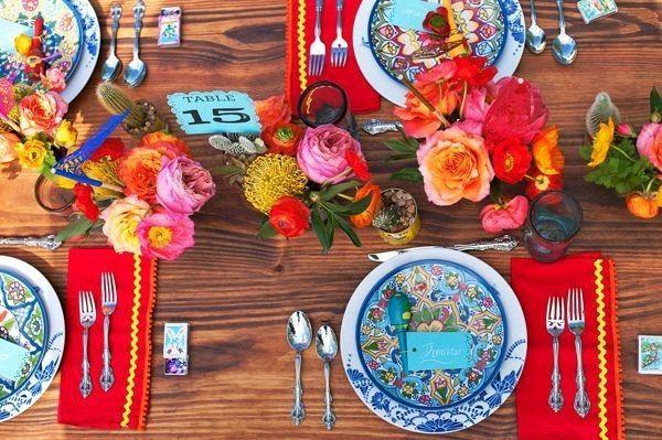 Decoracin mesa boda mexicana foro banquetes bodas mesa mexicana altavistaventures Image collections