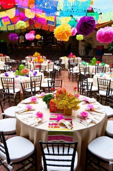 Decoraci n mesa boda mexicana foro banquetes - Foro decoracion ...