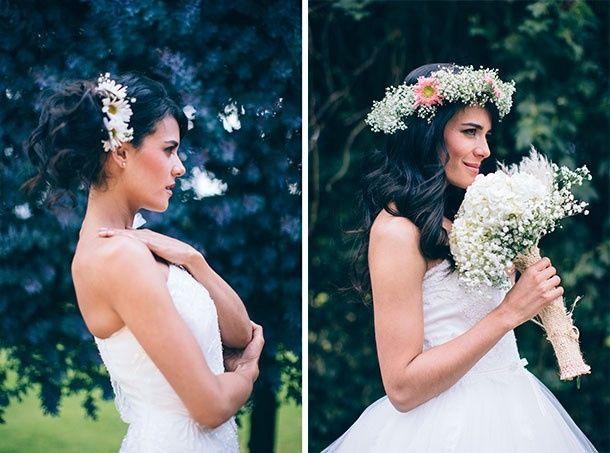 El tocado perfecto para tu vestido de novia - Foro Moda Nupcial ...