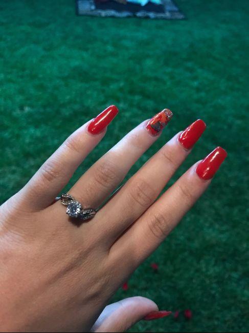 ¿Verdad que el anillo de compromiso si es lo mejor del mundo? 2