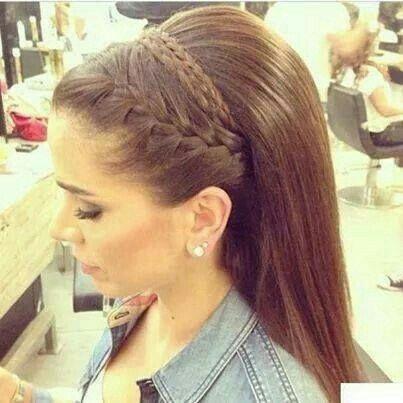 Peinado Con Cabello Suelto Y Lacio Foro Belleza Bodas Com Mx