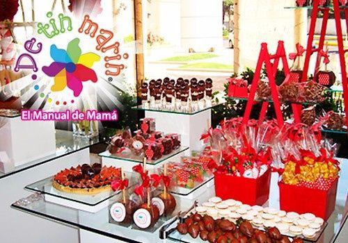 Mesa de snack dulce y salado ayuda foro organizar for Mesas de dulces infantiles