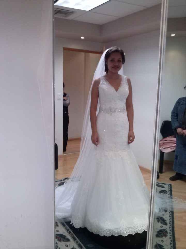 Sube la foto de tu vestido de novia! - 1