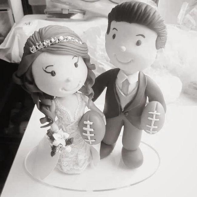 Muñecos de pastel - 1