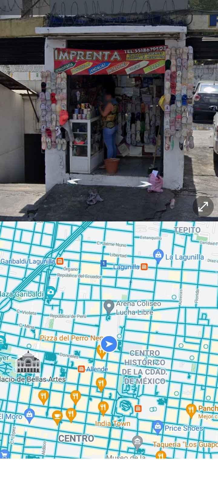 Ojo con la compra de pantuflas en el centro!! - 1