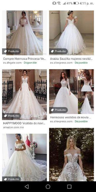 """[JUEGO] Si Googleas """"Vestido de novia""""... 21"""