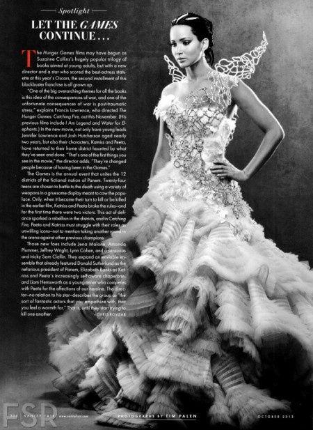 vestido de novia protagonista katniss, los juegos del hambre 'en
