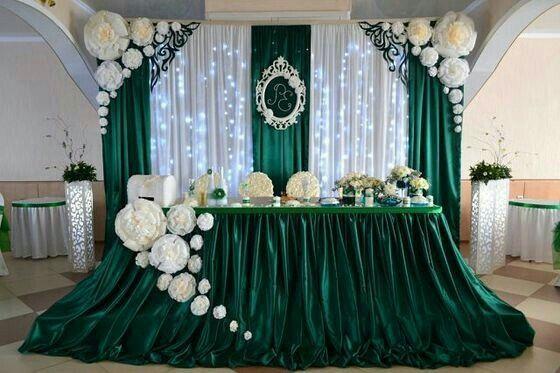Decoraci n de la mesa de honor foro organizar una boda for Adornos para bodas con plantas