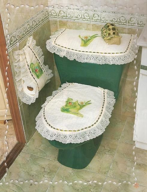 Juegos De Baño Moldes:tal vez unos dulceros pequeños en el lavamanos, unas canastitas de