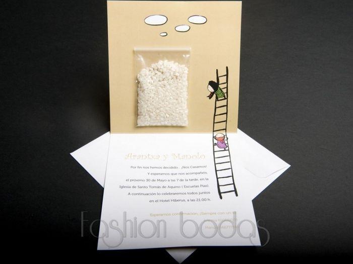 Ideas para invitaciones originales foro organizar una - Tarjetas de invitacion de boda originales ...