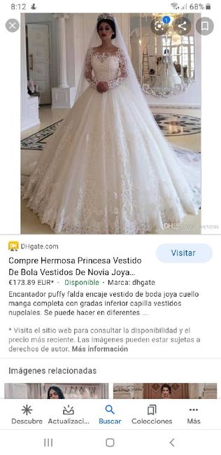 """[JUEGO] Si Googleas """"Vestido de novia""""... 12"""