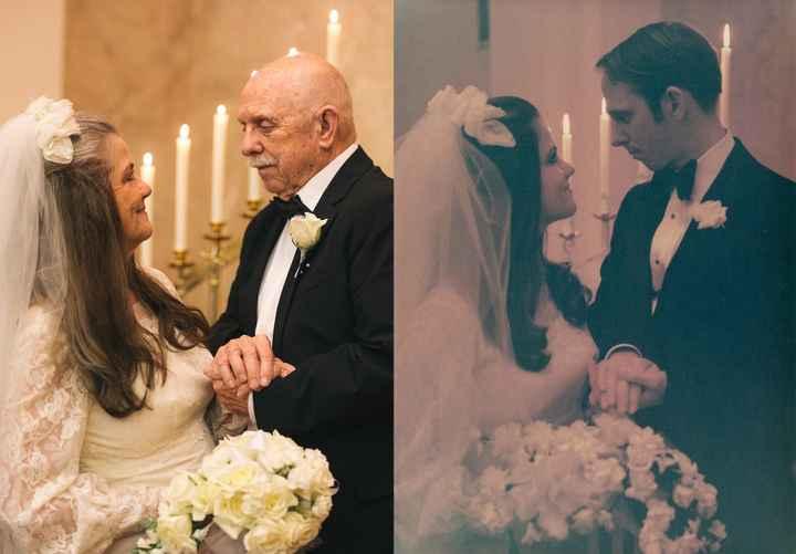 50 Años de matrimonio en una foto - 6
