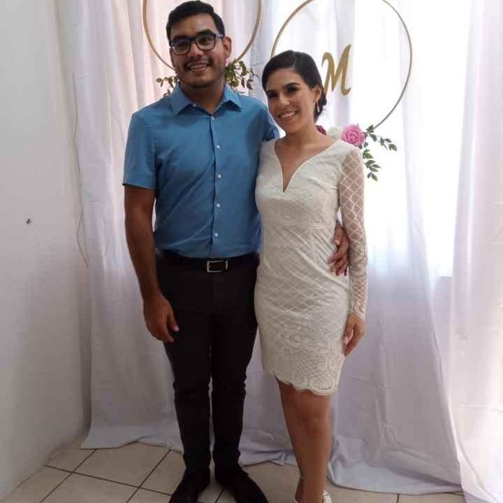 Para boda al Civil tiene que ser ¿vestido Largo o Corto? - 2