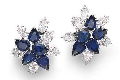 Aretes azules en tu boda 8